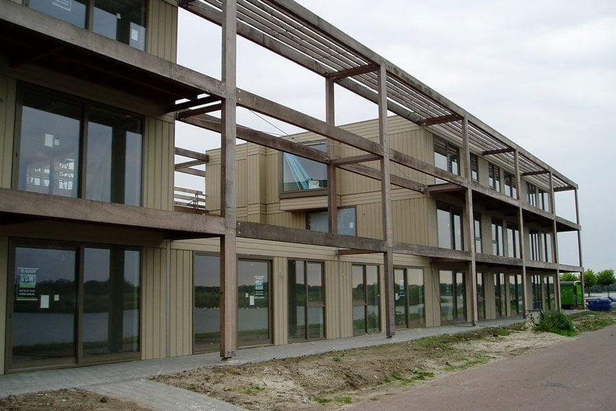 houten galerij