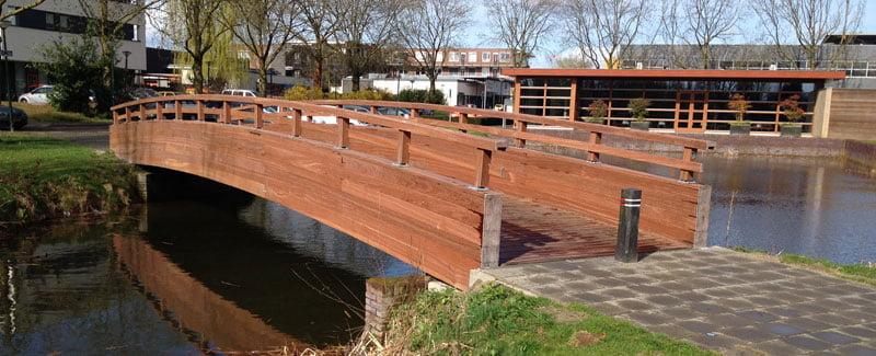 houten brug 15 meter